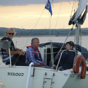 Join a boat as crew