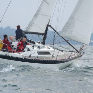 Passage racing in the Solent