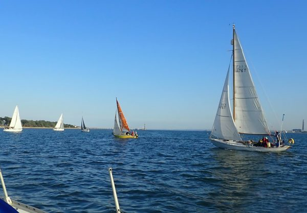 Evening Races on Southampton Water with SWSA